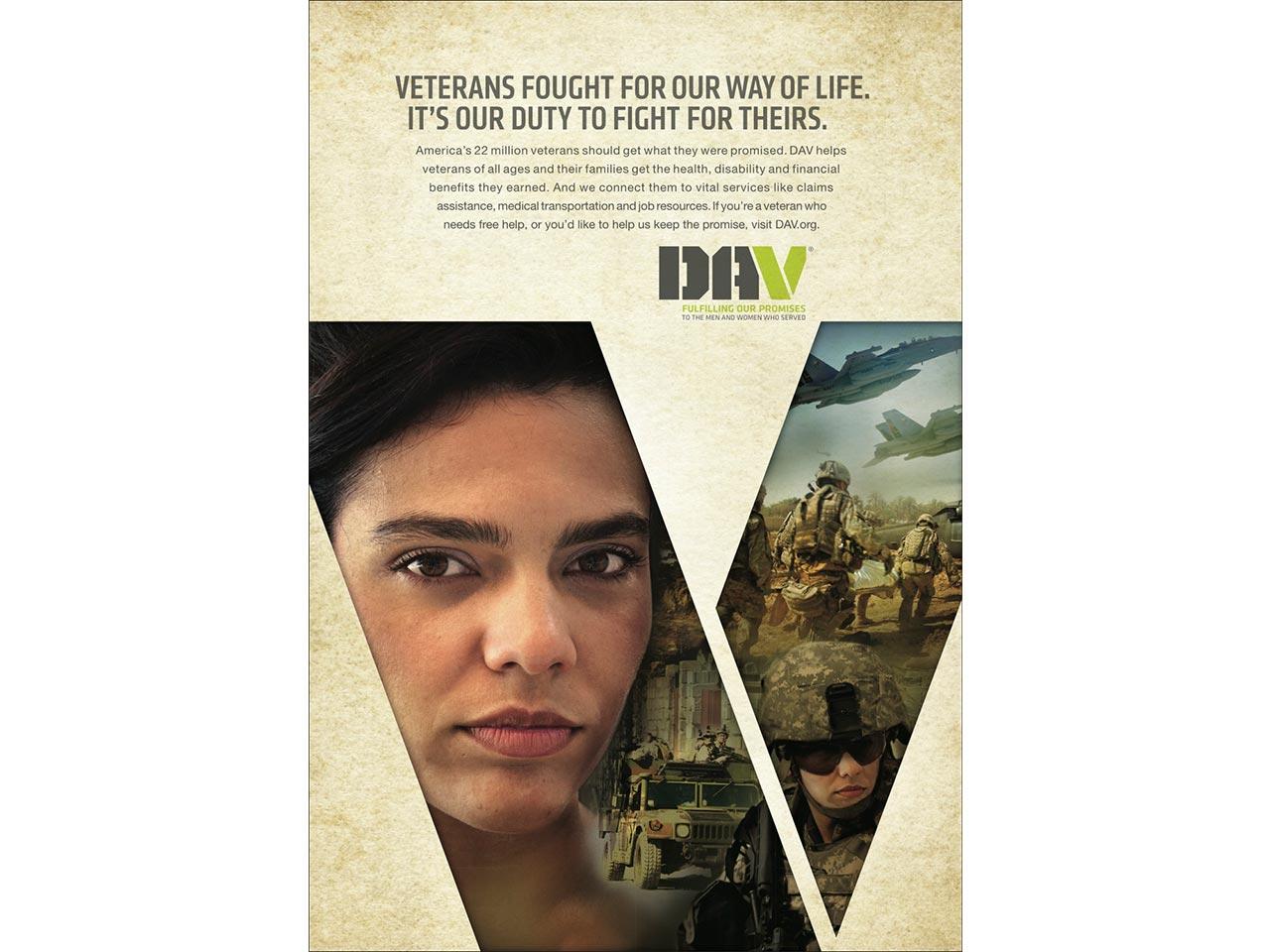 print PSA - female veteran