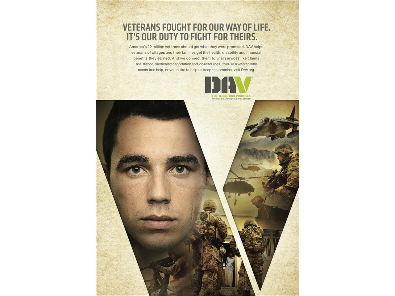 print PSA - Iraq War veteran