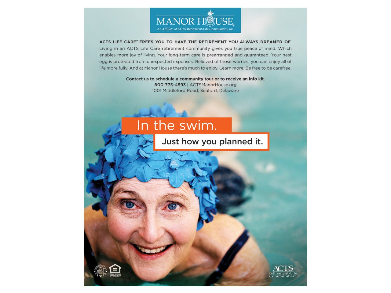 Print Ad - In the swim