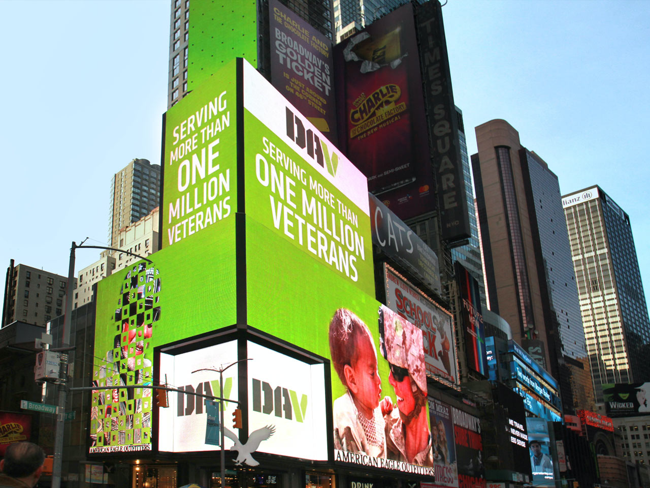 High-Impact Digital Billboards in Times Square