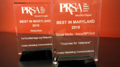 Article thumbnail for Crosby Takes Two Best in Maryland Awards