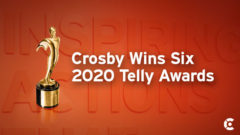 Article thumbnail for Crosby Wins Six Telly Awards for TV PSAs