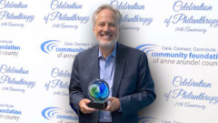 Article thumbnail for Crosby Honored as 'Corporate Philanthropist of the Year' by the CFAAC